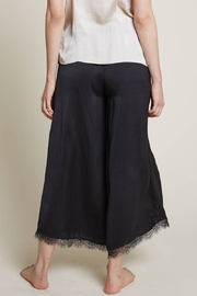 Grade and Gather Celine Satin Lace Pants - Front full body