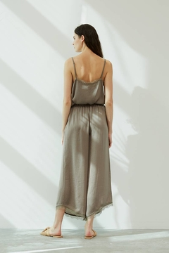 Grade and Gather Celine Satin Lace Pants - Product List Image