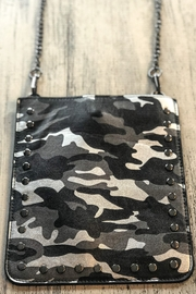 Ahdorned Cell Phone Chain Bags - Side cropped