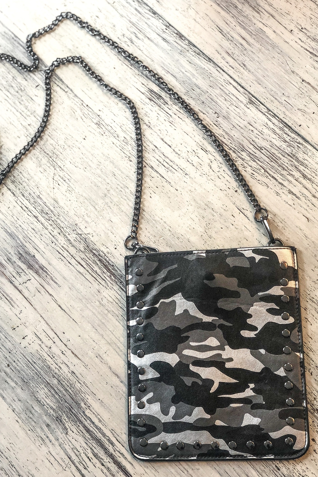 Ahdorned Cell Phone Chain Bags - Front Cropped Image