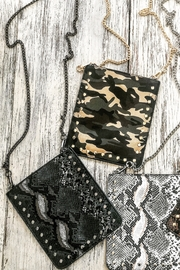 Ahdorned Cell Phone Chain Bags - Front cropped