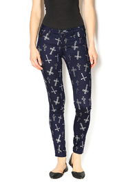 Cello Cross Leggings - Product Mini Image
