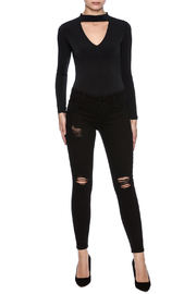 Cello Jeans Distressed Skinny Jeans - Front full body