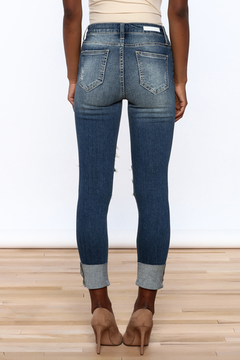 Cello Jeans High Rise Crop Skinny Jeans - Alternate List Image
