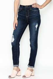 Cello Jeans Mid Rise Slim Jeans - Front cropped
