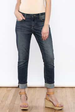 Shoptiques Product: Slim Boyfriend Jean