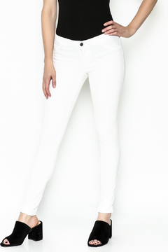 Cello Jeans White Denim Skinny Jeans - Product List Image