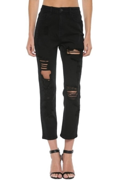 Shoptiques Product: Ripped Mom Jean