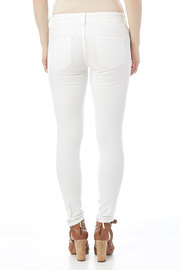 Cello White Distressed Jeans - Back cropped