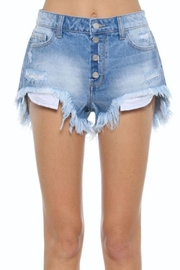 Cello Jeans 4-Button Denim Short - Product Mini Image