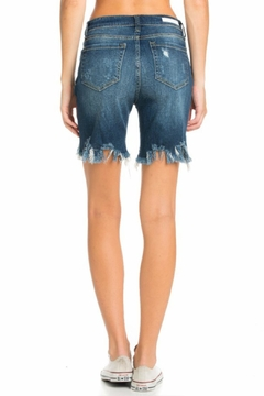 Cello Jeans Bermuda Uneven Shorts - Alternate List Image