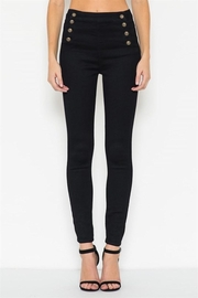Cello Jeans Black Sailor Pants - Product Mini Image