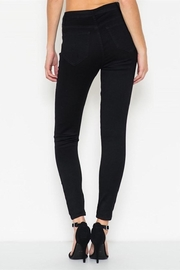 Cello Jeans Black Sailor Pants - Front full body