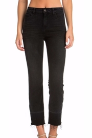 Cello Jeans Black Wash Jeans - Front cropped