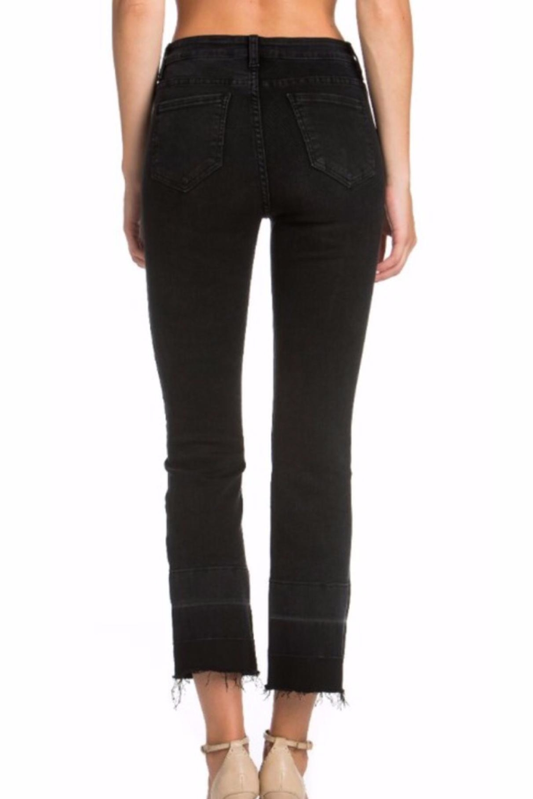 Cello Jeans Black Wash Jeans - Front Full Image