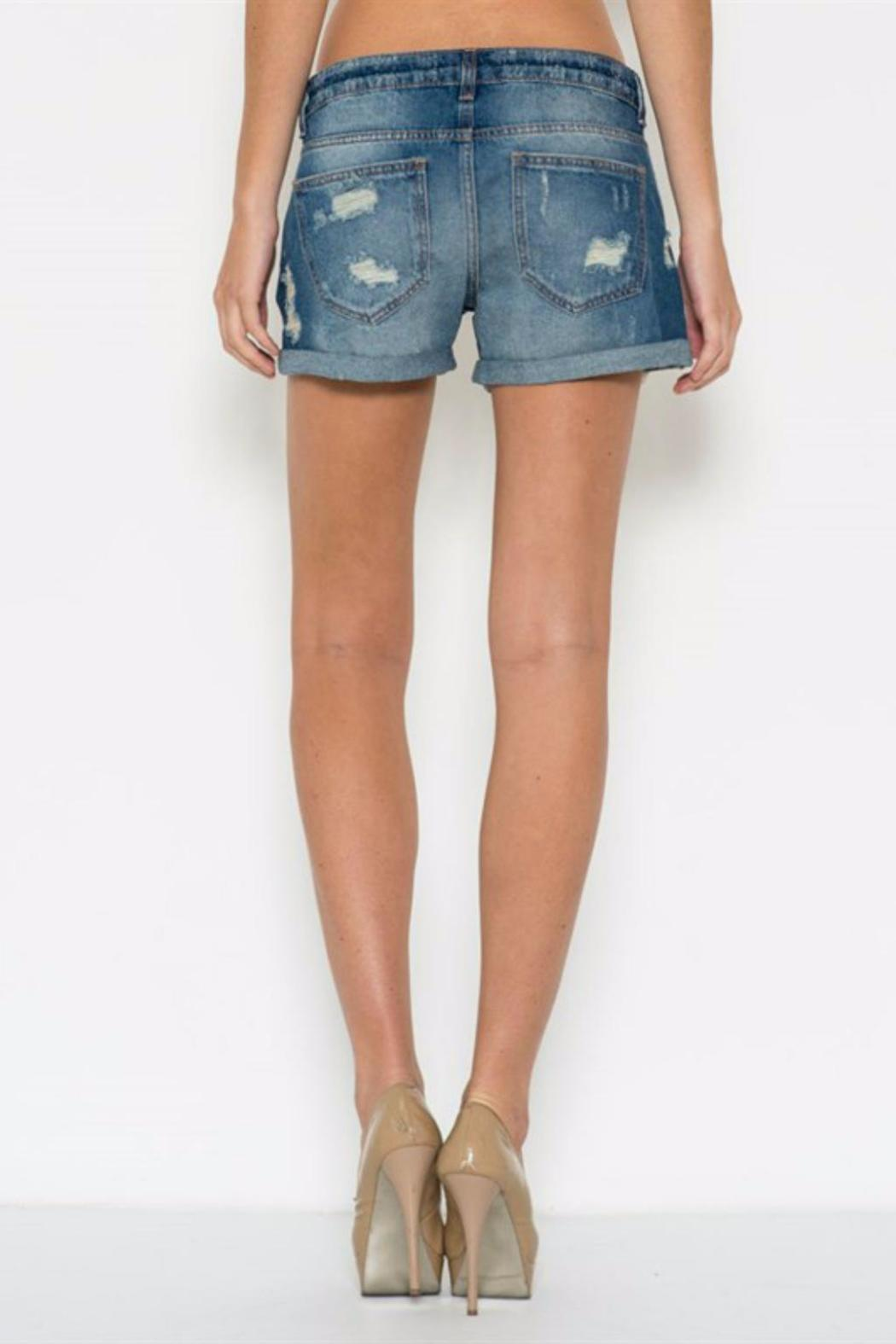 fa21bebda0 Cello Jeans Boyfriend Denim Short from North Dakota by Blue Daisy ...