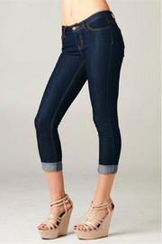 Cello Jeans Cello Skinny Capris - Front cropped
