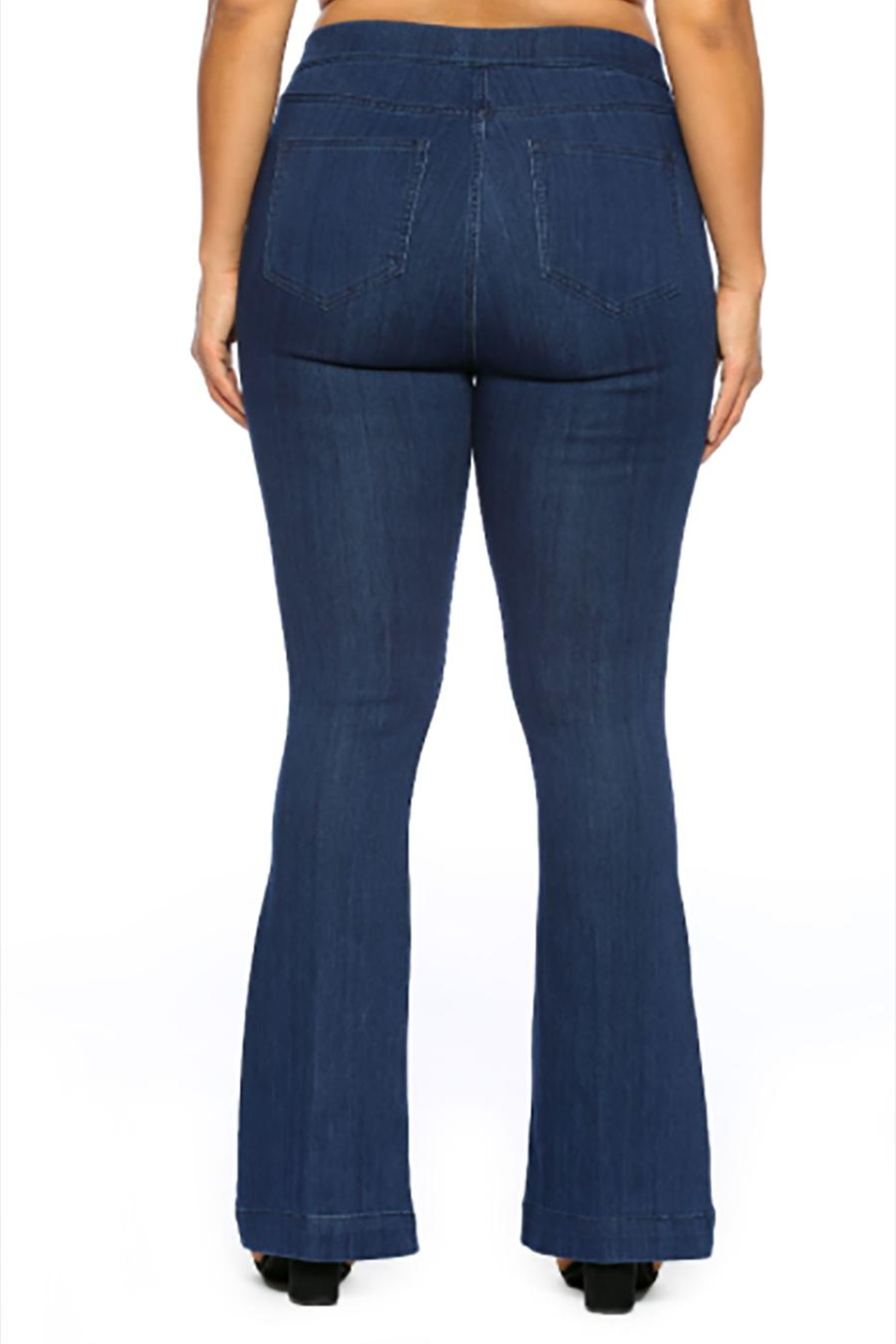 Cello Jeans Dark Plus Pullons - Front Full Image
