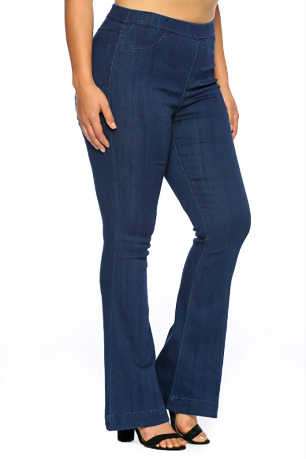 Cello Jeans Dark Plus Pullons - Side Cropped Image