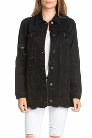 Cello Jeans Denim Distressed Jacket - Product Mini Image