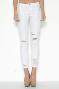 Cello Jeans Destroyed Ankle Skinny - Product List Image