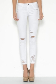 Cello Jeans Destroyed Ankle Skinny - Product Mini Image