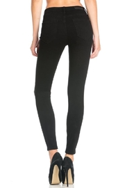 Cello Jeans Destroyed Black Skinny Jeans - Side cropped