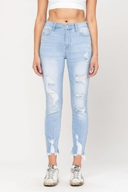 Cello Jeans Destructed Ankle Skinny - Product Mini Image