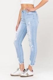 Cello Jeans Destructed Ankle Skinny - Front full body