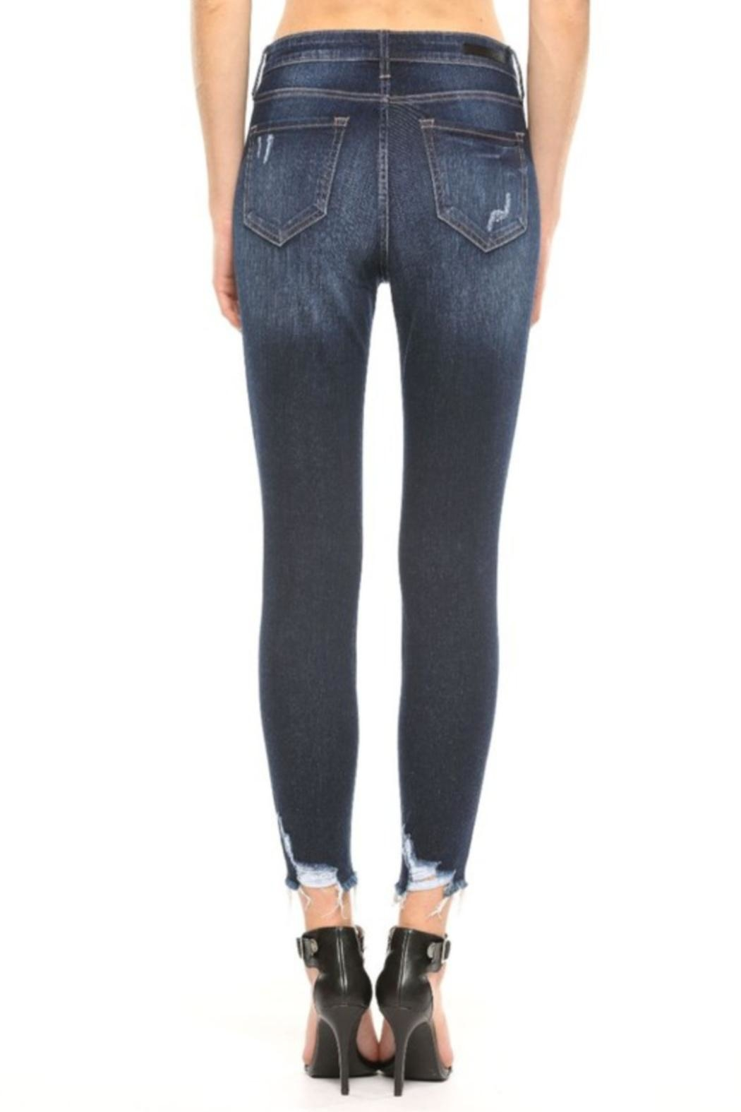 Cello Jeans Frayed Distressed Jeans - Front Full Image
