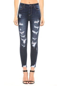 Cello Jeans Frayed Distressed Jeans - Product List Image