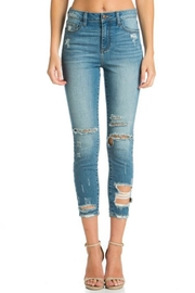 Cello Jeans High-Rise Crop - Front cropped