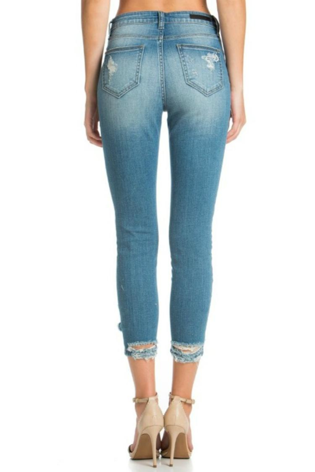 Cello Jeans High-Rise Crop - Side Cropped Image