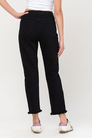 Cello Jeans High Rise Crossover Destroyed Straight Jeans - Other