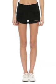 Cello Jeans High Rise Fray Shorts - Product Mini Image