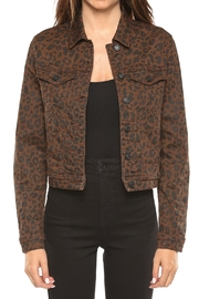 Cello Jeans Leopard Jean Jacket - Product Mini Image