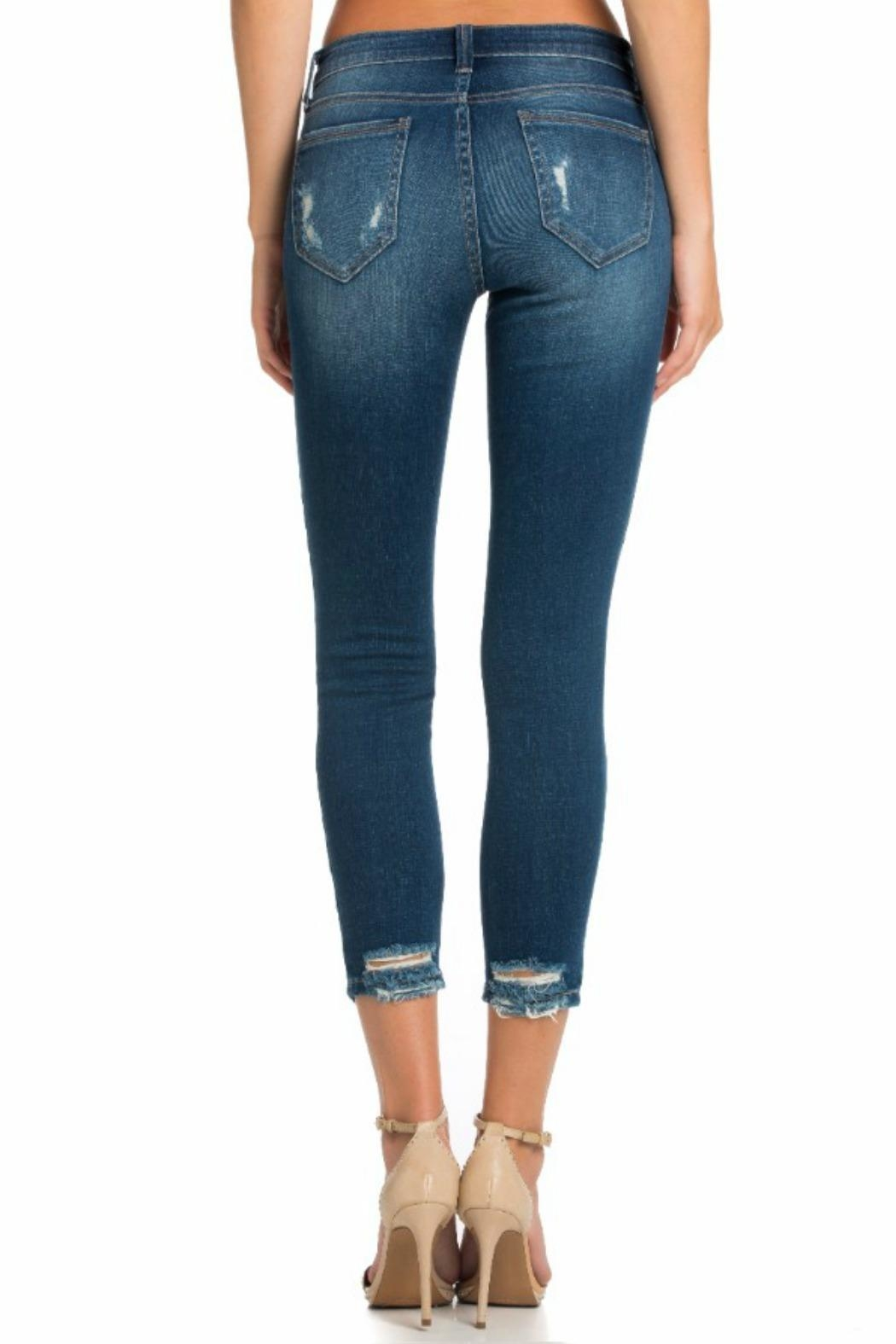 Cello Jeans Mid Rise Pocket - Side Cropped Image