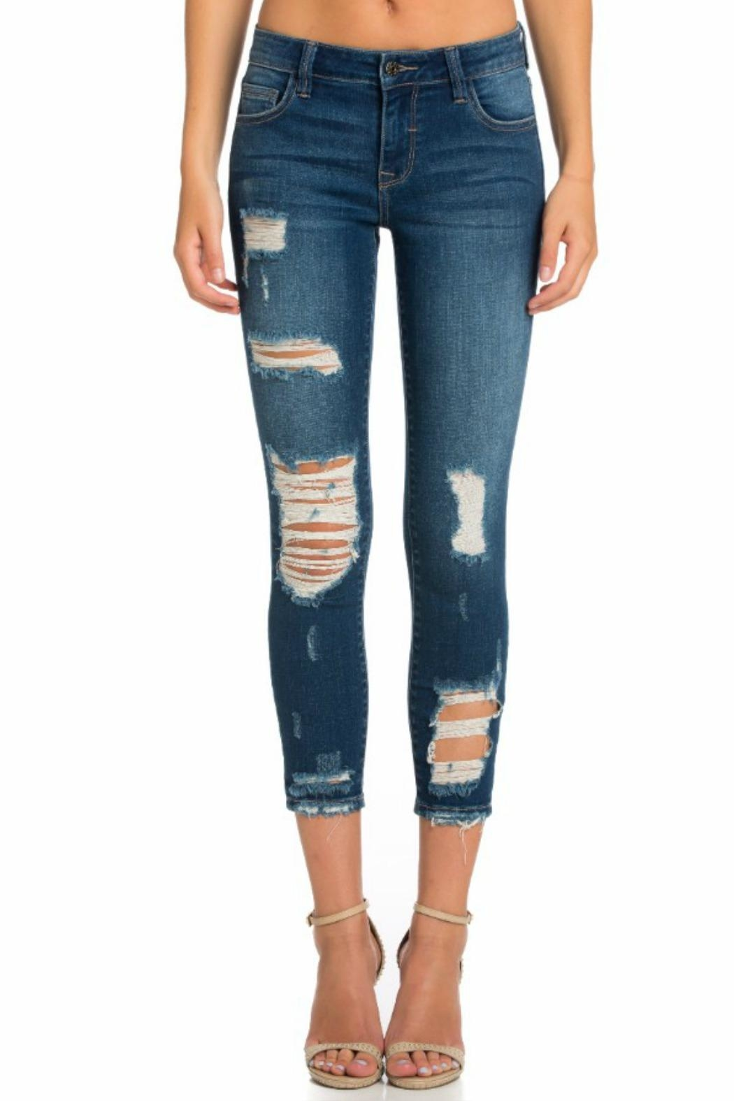Cello Jeans Mid Rise Pocket - Main Image