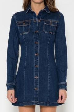 Cello Jeans Mini Denim Dress - Product List Image