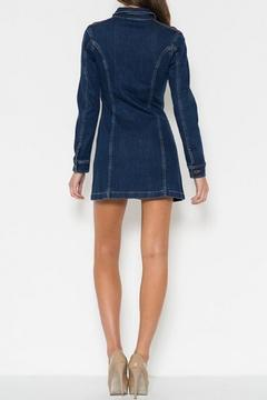 Cello Jeans Mini Denim Dress - Alternate List Image