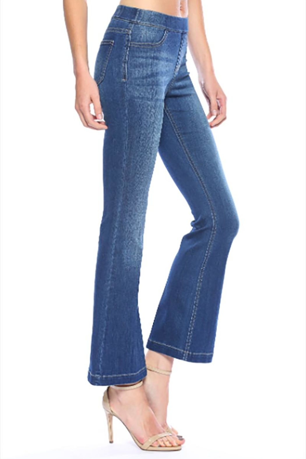 Cello Jeans Petite Dark Pullons - Front Full Image