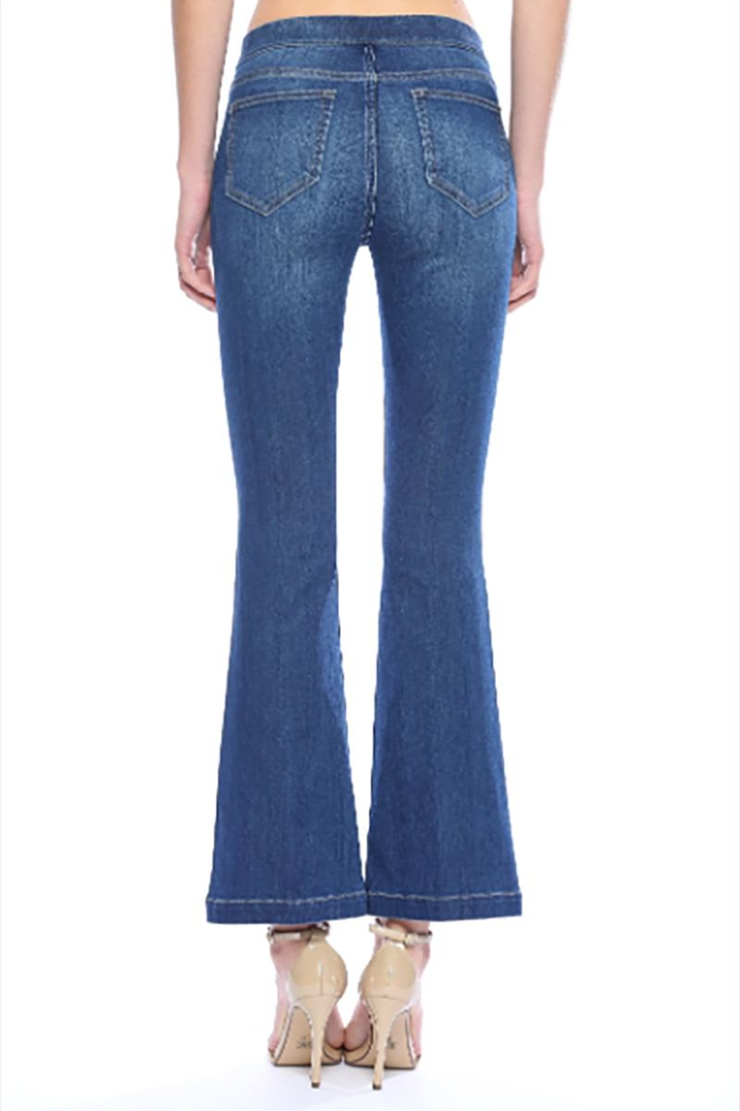 Cello Jeans Petite Dark Pullons - Side Cropped Image