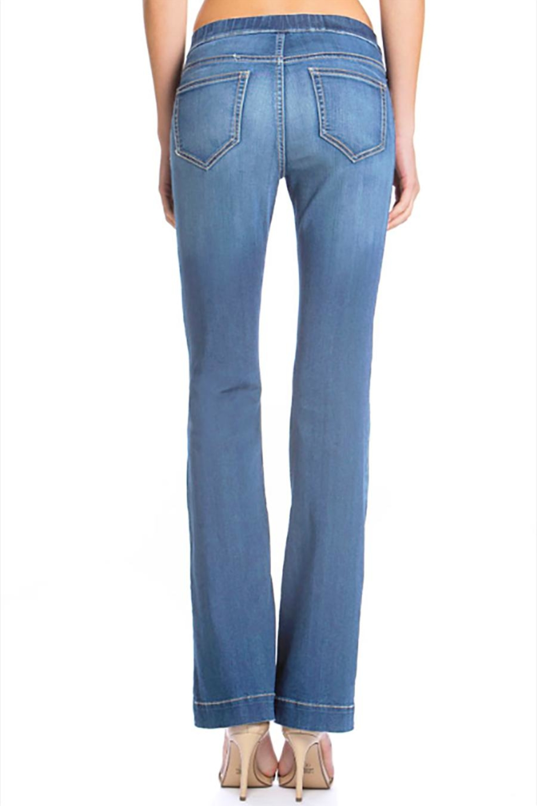 Cello Jeans Petite Medium Pullons - Side Cropped Image