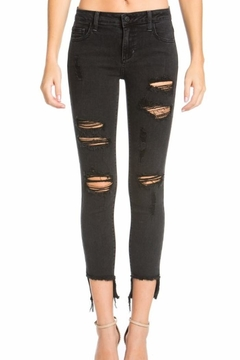 Cello Jeans Ripped Cropped Jeans - Product List Image
