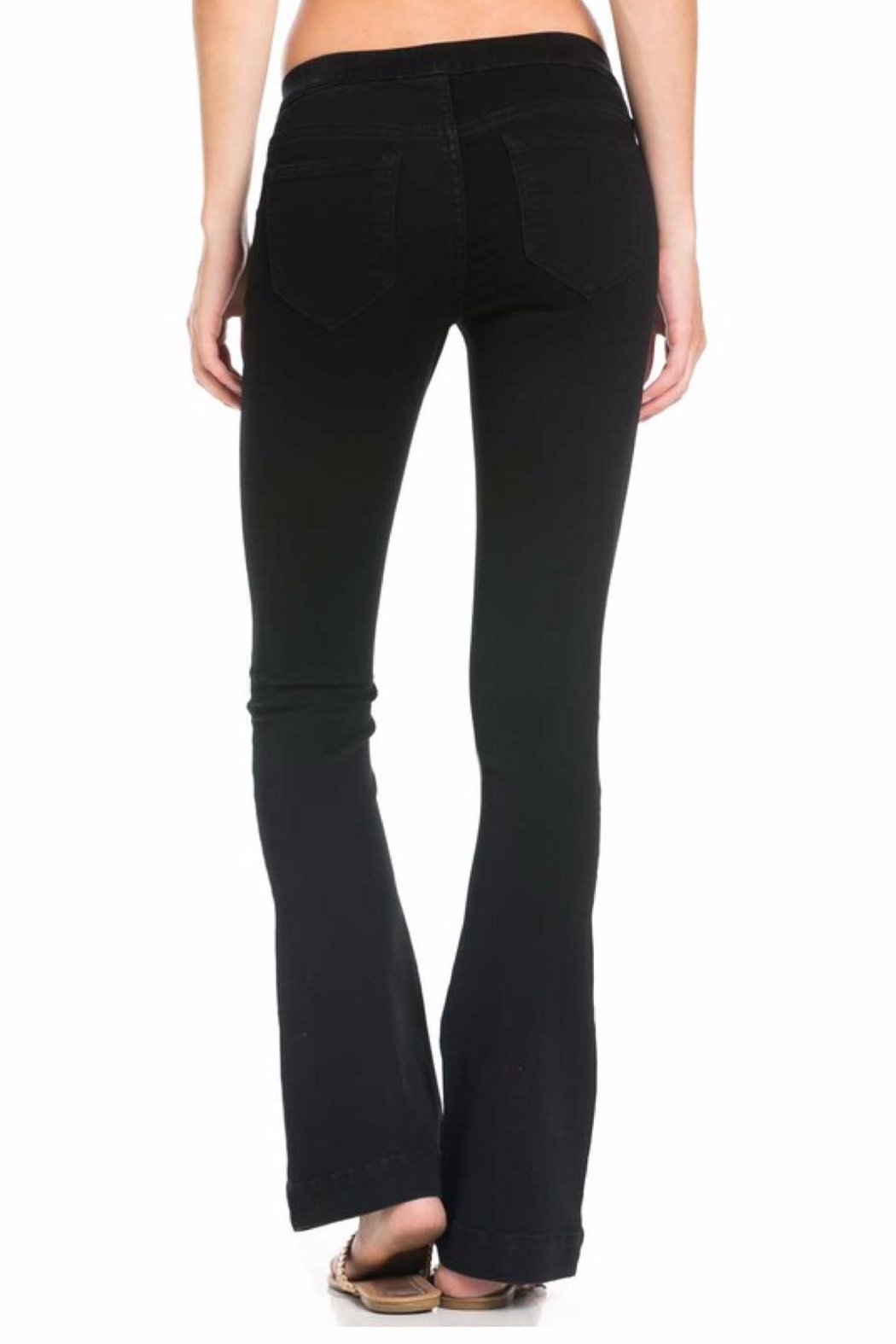Cello Jeans Stretch Slim Bootcut - Side Cropped Image
