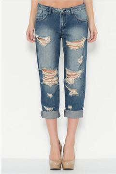 Cello Jeans Vintage Boyfriend Jeans - Product List Image