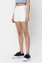 Cello Jeans Vintage High Rise Mom Shorts - Back cropped