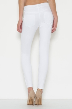 Cello Jeans White Distressed Jeans - Alternate List Image