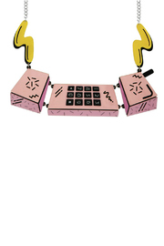 Tatty Devine Cellular Phone Necklace - Product Mini Image