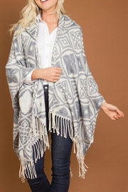 Simply Noelle Celtic Hooded Poncho - Product Mini Image